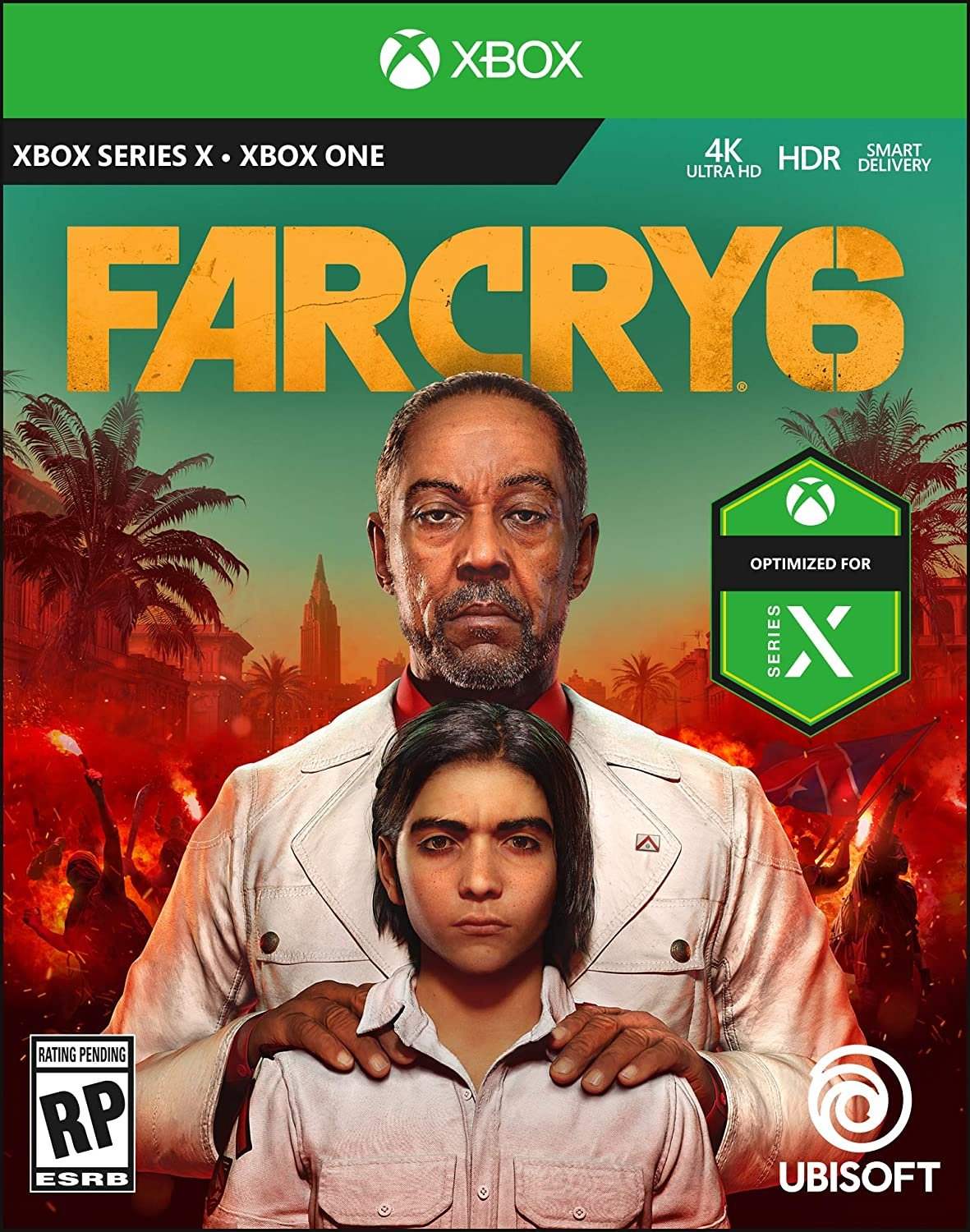 Optimised for Series X Far Cry 6