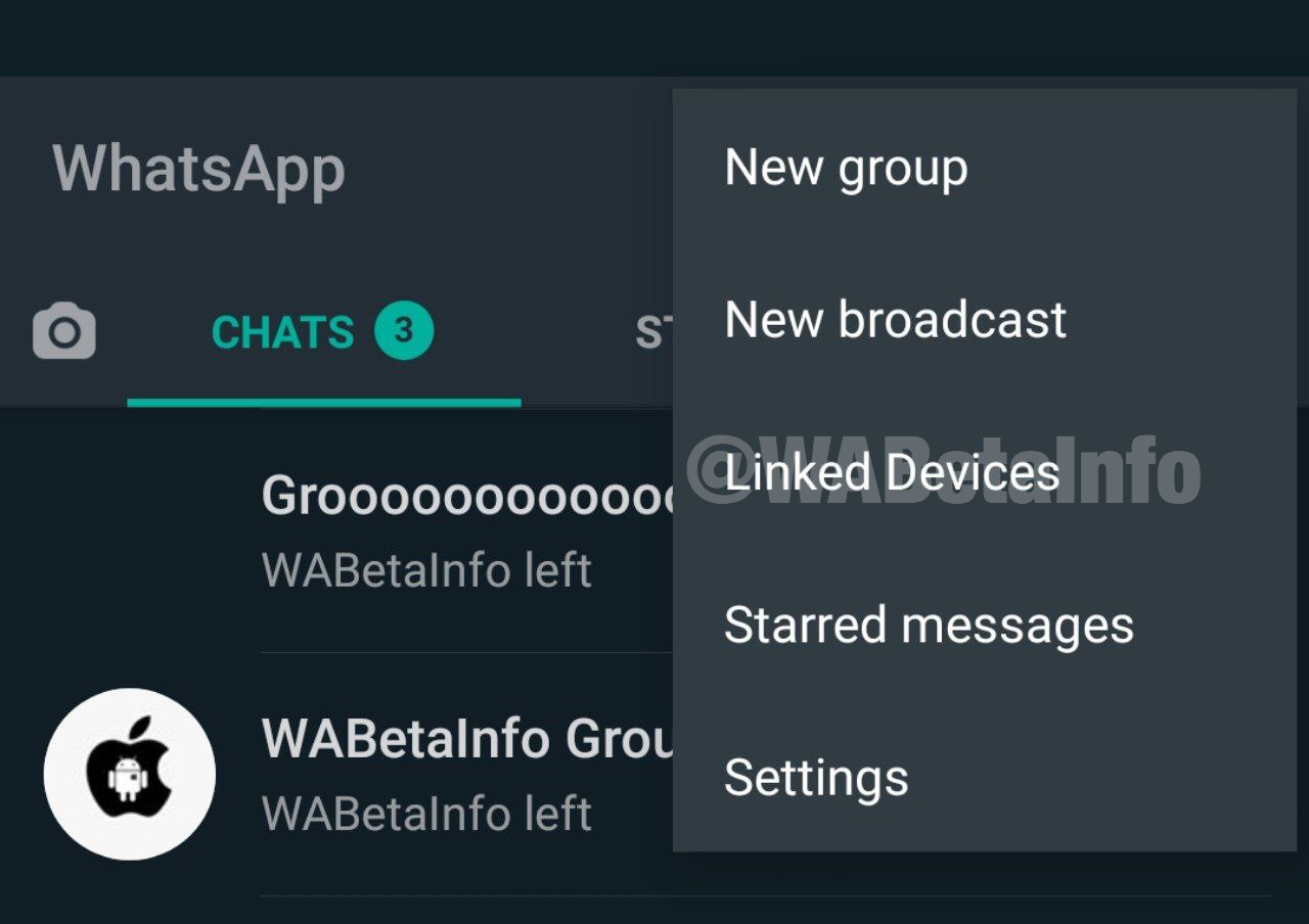 WhatsApp Tests New Interface for Using Same Number on Different Phones