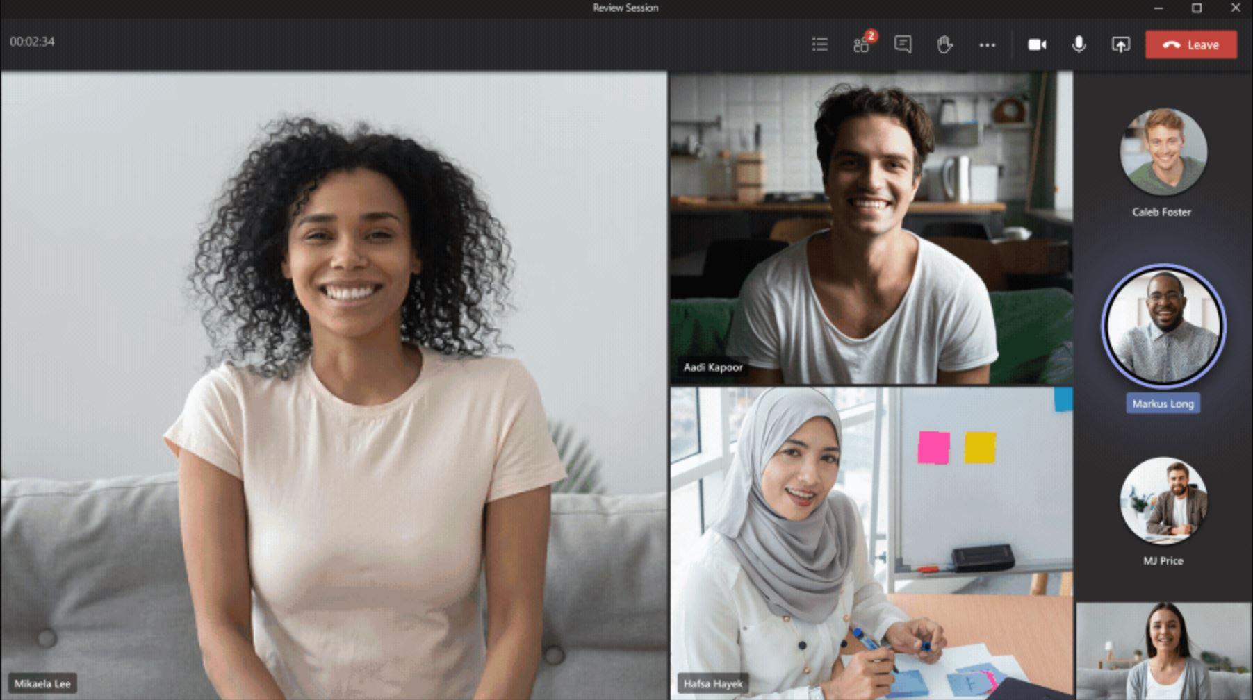 Microsoft Teams Dynamic View
