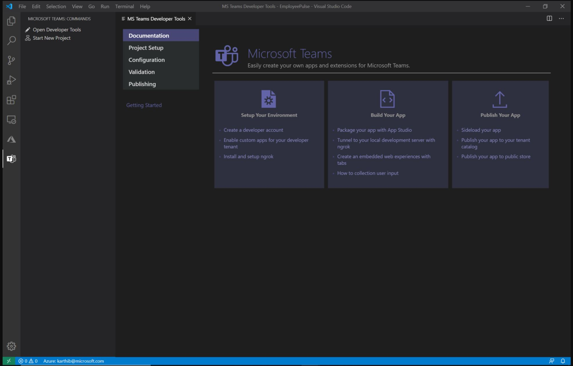 Microsoft Teams Toolkit