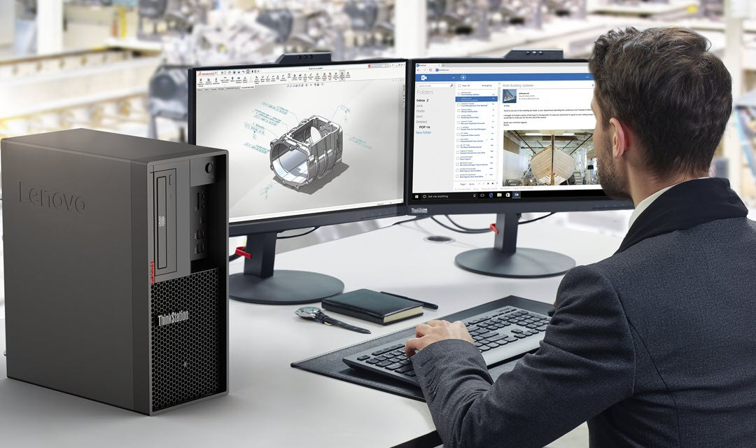 Lenovo Teases A New Thinkstation Workstation Likely Powered By The New Amd Ryzen Threadripper Pro 3995wx Processor Mspoweruser