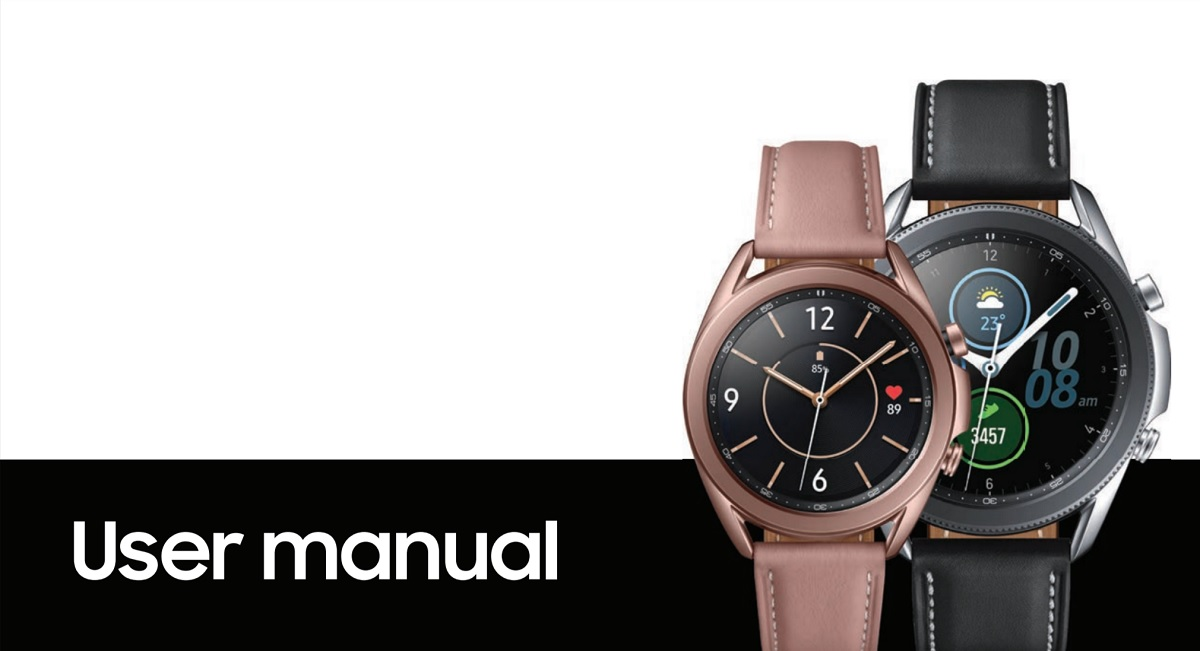 Samsung Galaxy Watch 3 User Manual Leaked Manual Guide