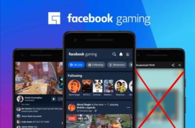 Facebook Gaming iOS