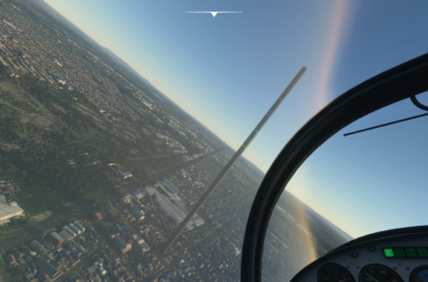 Microsoft Flight Simulator obelisk