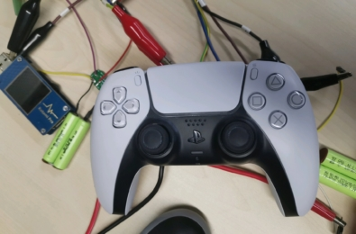 PS5 controller battery