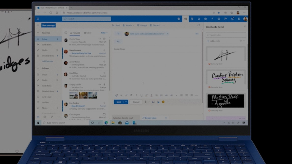 You'll soon be able to access OneNote, Sticky Notes in Outlook ...