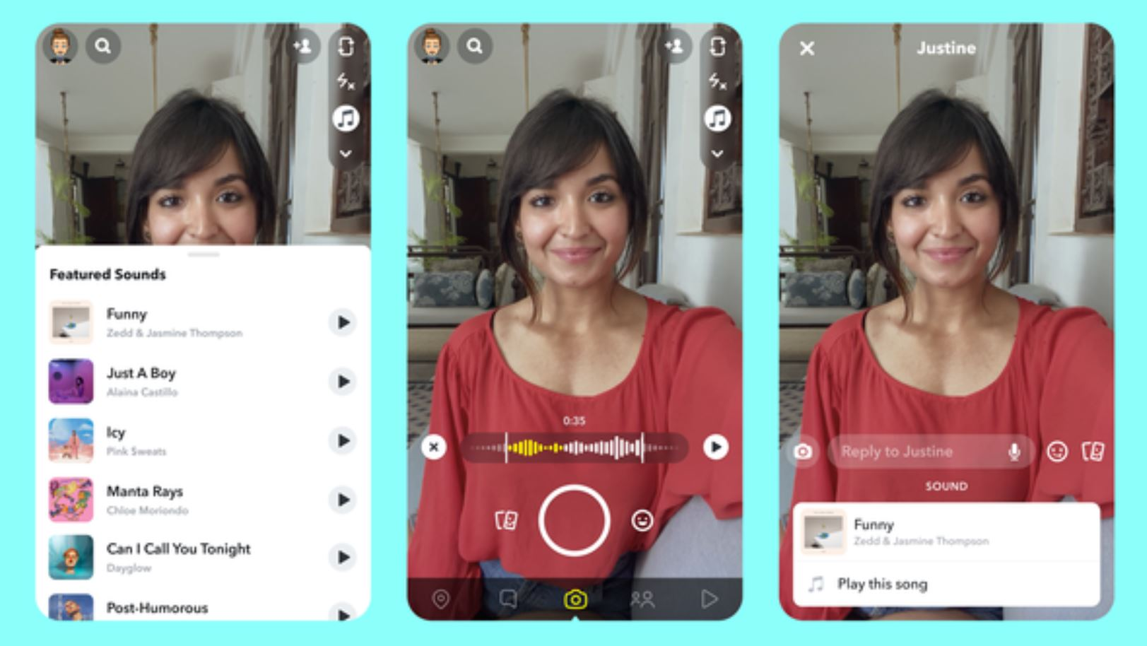 Snapchat TikTok clone