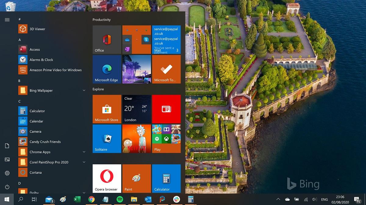 Şu anda yeni Windows 10 Başlat Menüsü nasıl etkinleştirilir 13