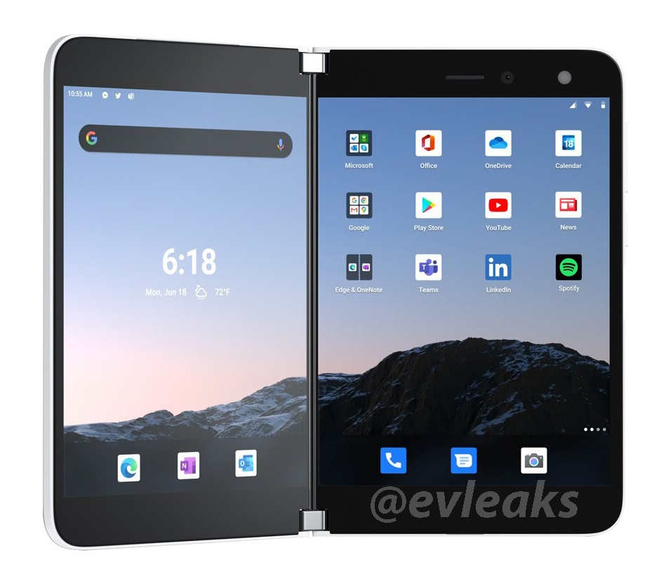 New images of AT&T Surface Duo leaks