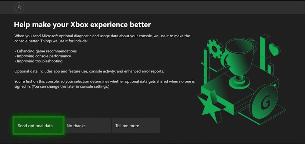 Xbox data collection