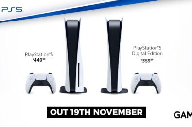PS5 preorders UK.