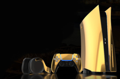 24K gold PS5 preorder