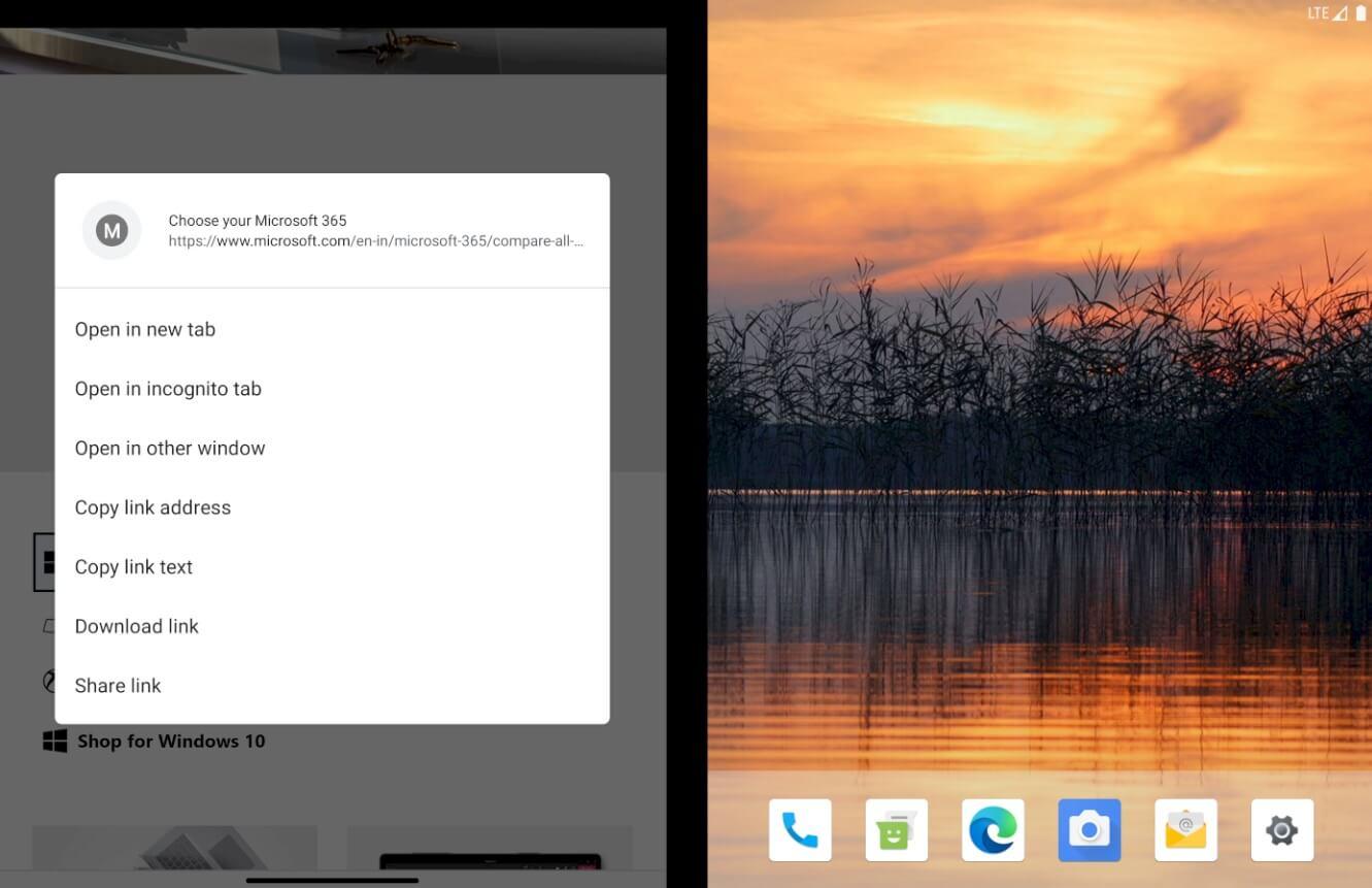 Google Chrome, Surface Duo için çift ekran desteği alıyor 2