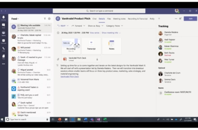 Microsoft Teams Meeting Recap