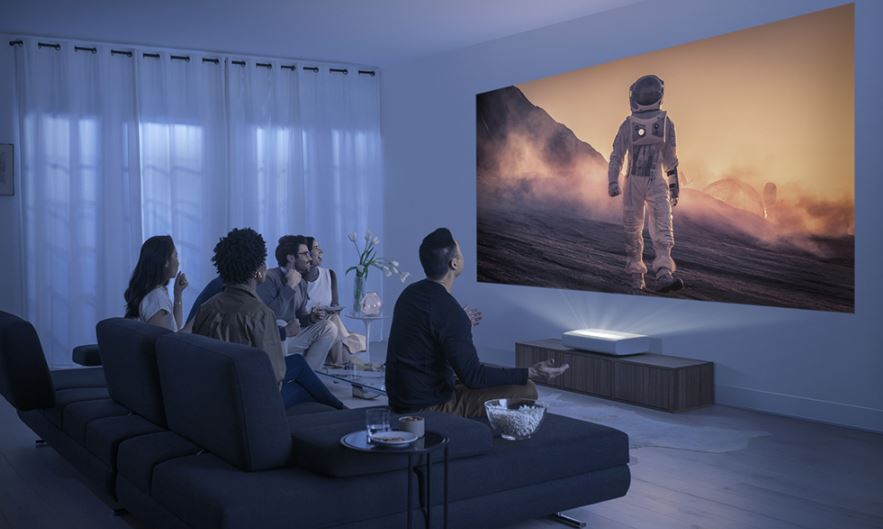 Samsung announces The Premiere 4K Ultra Short Throw laser projector