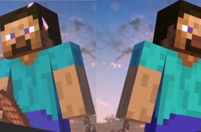 Nintendo stole Minecraft Steve's meat smash Bros Ultimate victory