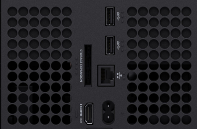 Xbox Series X tactile indicators