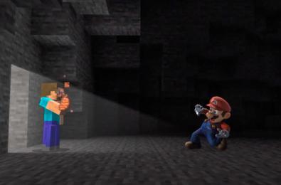 Minecraft Steve Alex Zombie Enderman Super Smash Bros Ultimate Nintendo Switch