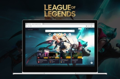 Microsoft Edge League of Legends