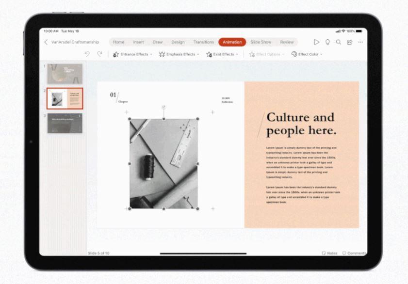 Microsoft Office iPadOS