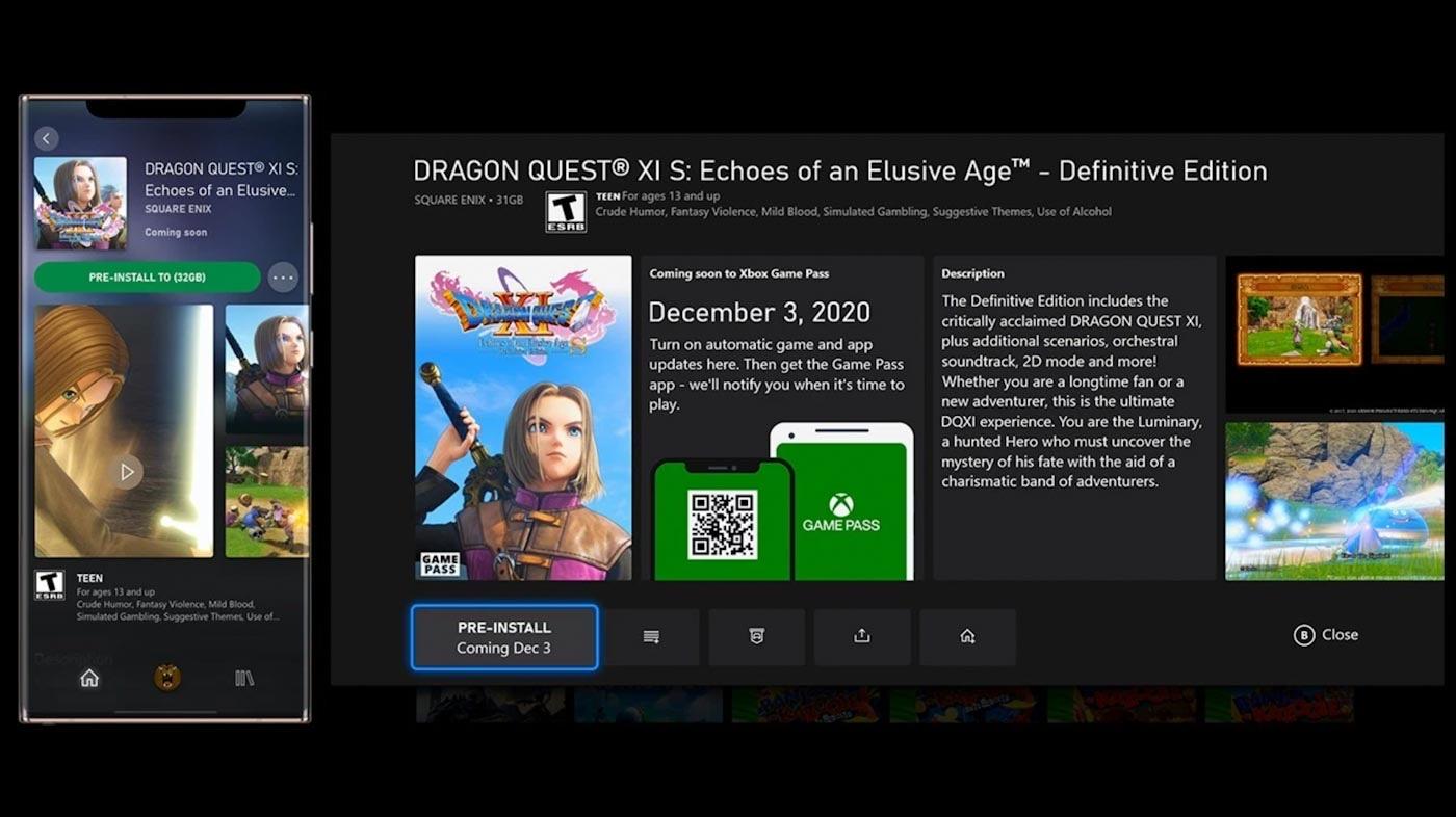 Xbox November 2020 update