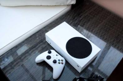 Xbox Series S unboxing