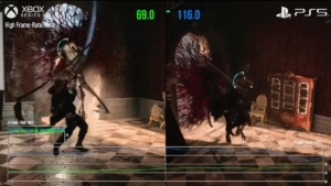 Devil May Cry V Xbox Series X performance DMC V Special Edition performance ps5