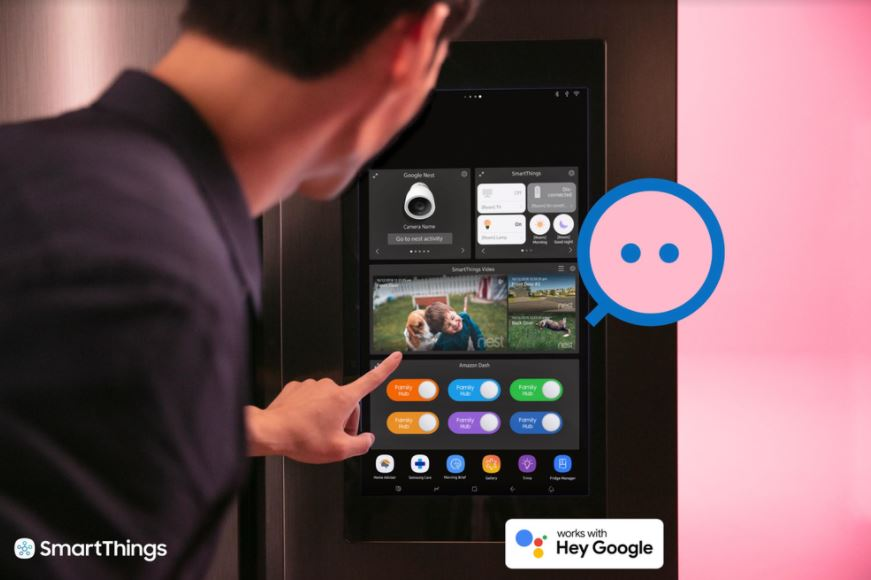 Google Assistant Samsung SmartThings