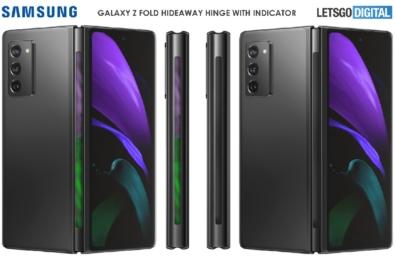 Samsung galaxy fold 3 patent