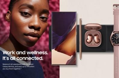 Samsung work and wellness bundle