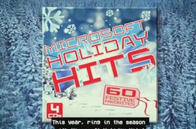 microsoft holiday hits