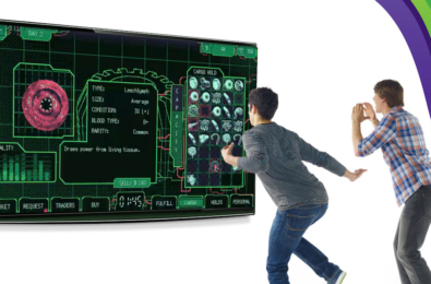 Kinect Space Warlord Organ Trading Simulator