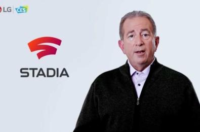 LG's Tim Alessi explaining that Google Stadia TV app is coming