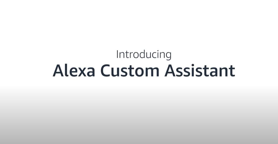 Amazon Alexa Custom Assistant