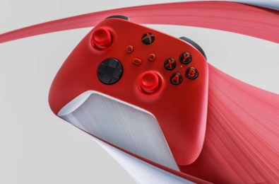 Pulse Red Xbox Series controller
