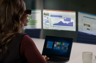 Lenovo ThinkReality A3 Glass virtual monitors Qualcomm