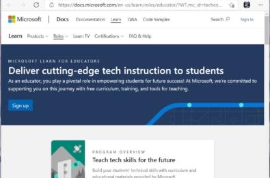 Microsoft Learn for Educators