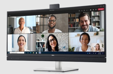 Microsoft Teams video conferencing monitors
