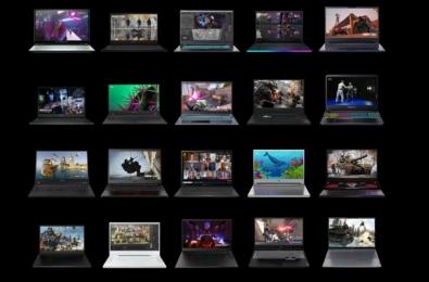NVIDIA RTX 30 series laptops