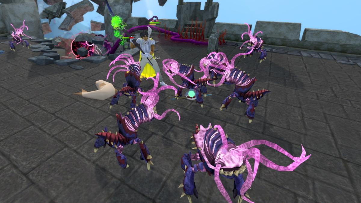 RuneScape 3 combat gameplay