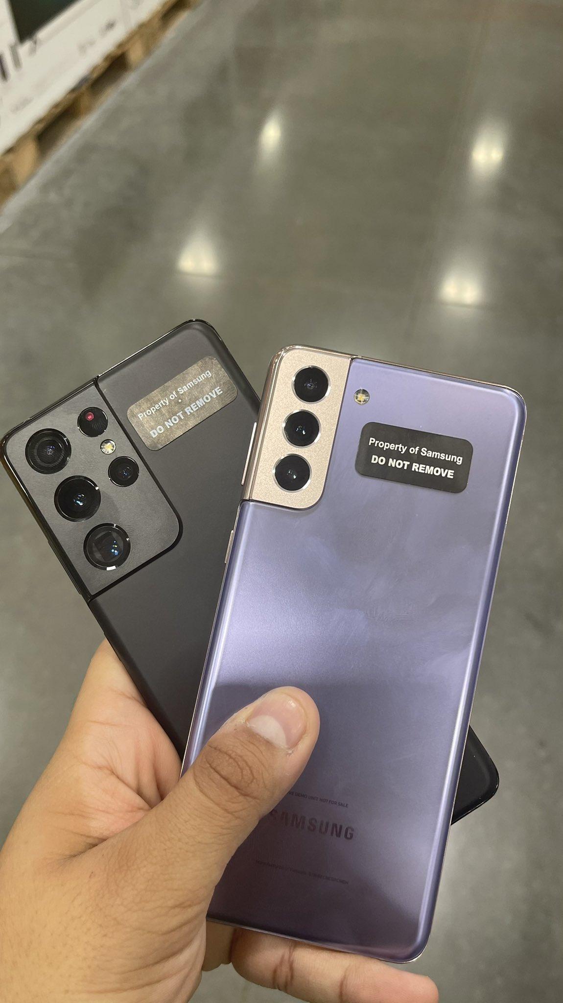Καμαρώστε λίγο πριν την παρουσίασή τους τα νέα μοντέλα της σειράς Samsung Galaxy S21 που δεν θα δέχονται κάρτες microSD 5