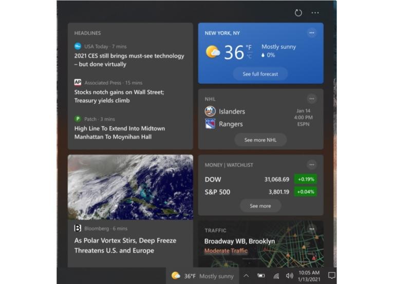 Microsoft Windows 10 News and Interests