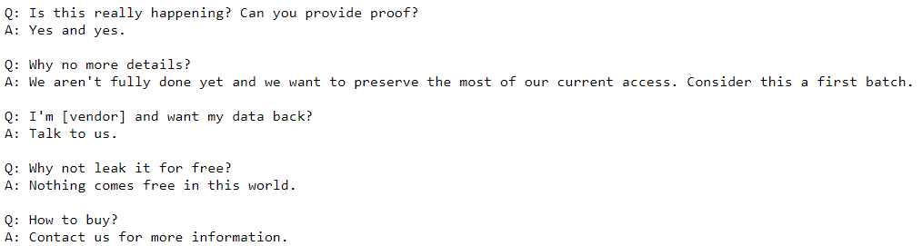 code leak 2