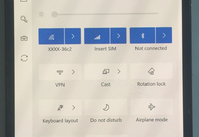 windows 10x on lumia 950 xl