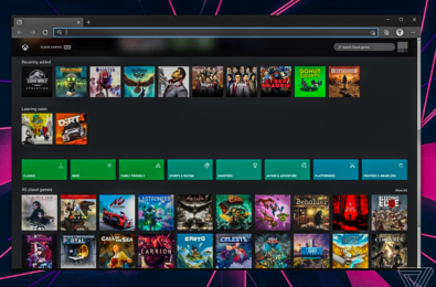 Microsoft Project xCloud Xbox Game Streaming