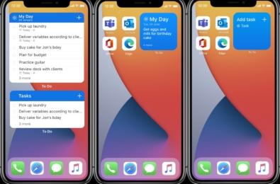 Microsoft To Do iOS Widgets