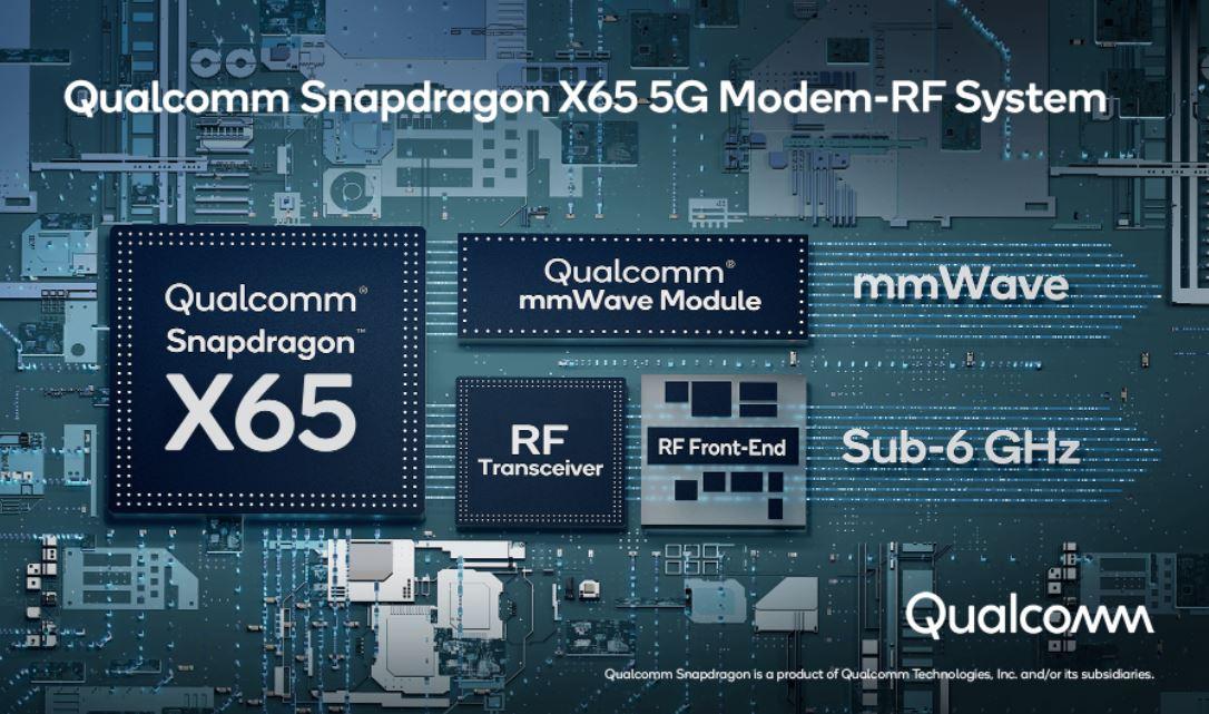 Qualcomm Snapdragon X65 modem
