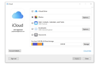 icloud chrome password sync