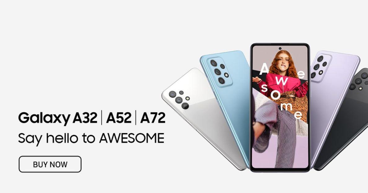 Samsung Galaxy A32 A52