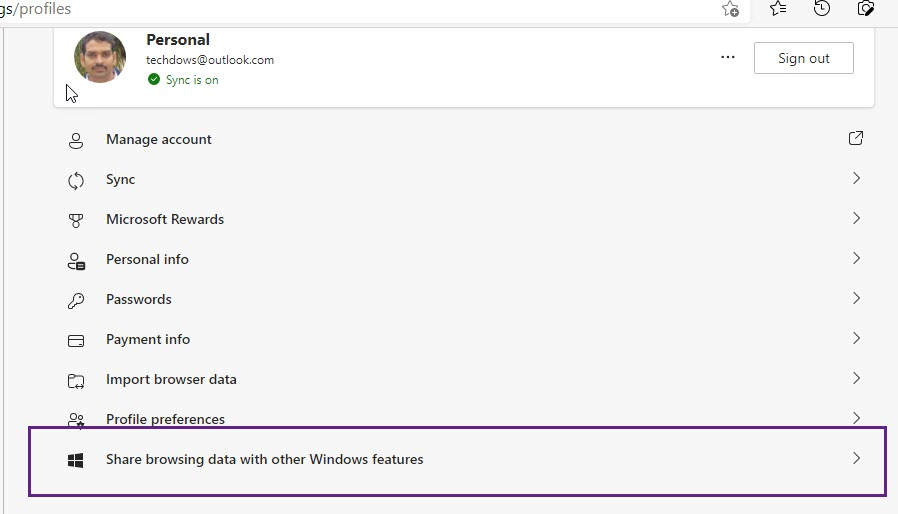 Share-browsing-data-with-other-Windows-features-Setting